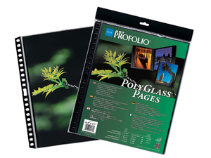 Itoya Polyglass Multi-Ring Pages For 14x17 (10)