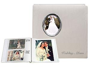 Pioneer WF-5781 Oval Framed Wedding Album