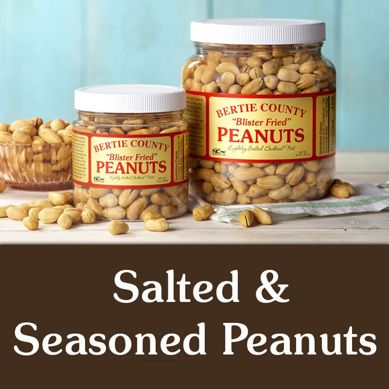 Salted and Seasoned Peanuts