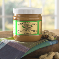 All Natural Unsalted Peanut Butter - Three 16 oz. jars (Shipped to one address)
