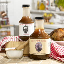 Big Buck's BBQ Sauce - Large (1 quart)