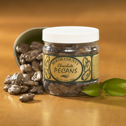 Chocolate Covered Pecans - 9 oz. Jar