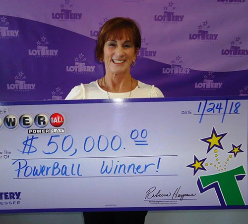 Tennessee Lottery Player Wins 50 000 Powerball Prize Powerball