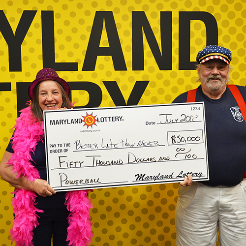 Maryland Lottery Winner 'Better Late than Never'
