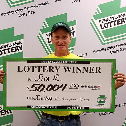 PA Lottery Winner Jim R.