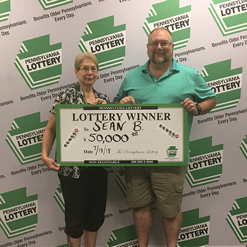 PA Lottery Winner Sean B.