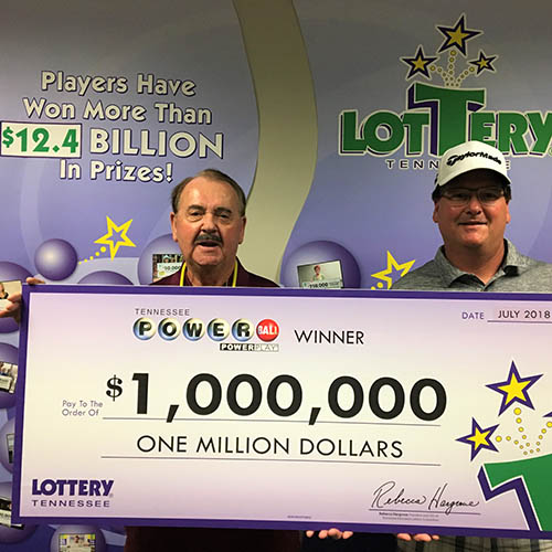 Father And Son Claim 1 Million Powerball Prize Powerball