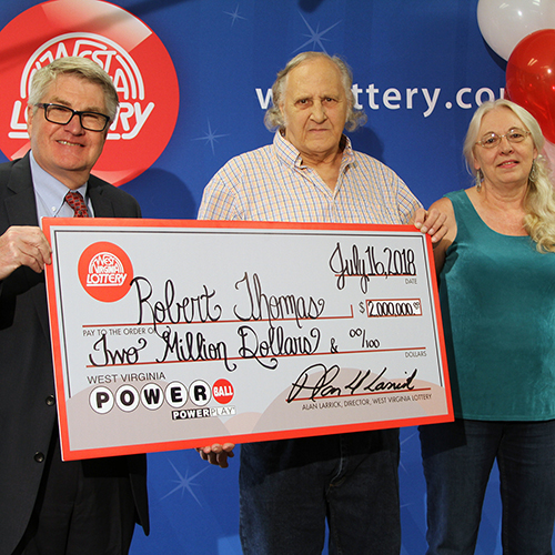 WV Lottery Winner Robert Thomas