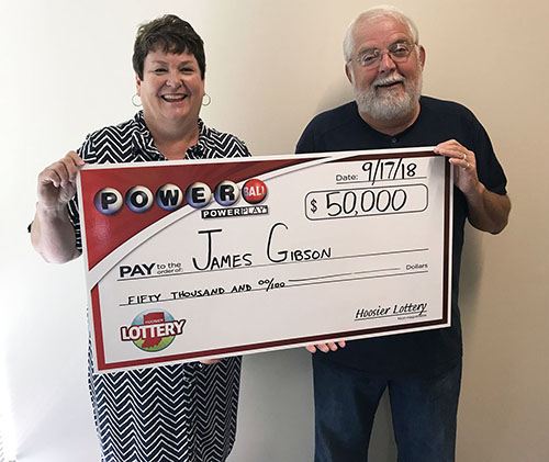 Hoosier Lottery Winner Jim Gibson