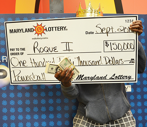 Maryland Lottery Winner Roque II