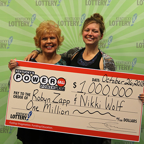 Kentucky Lottery Winners Robyn Zapp and Nikki Wolf