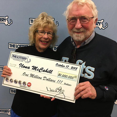 Massachusetts Powerball Winner Ilona McCahill