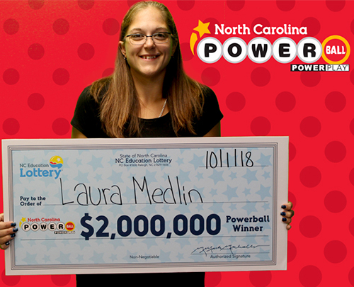 NCEL Powerball Winner Laura Medlin