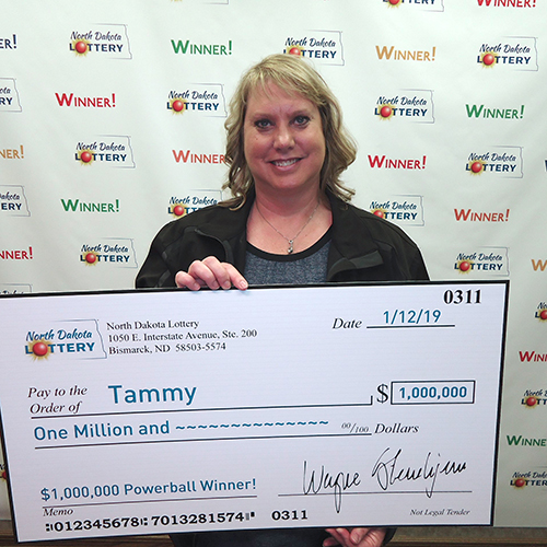North Dakota Lottery Winner Tammy Edland