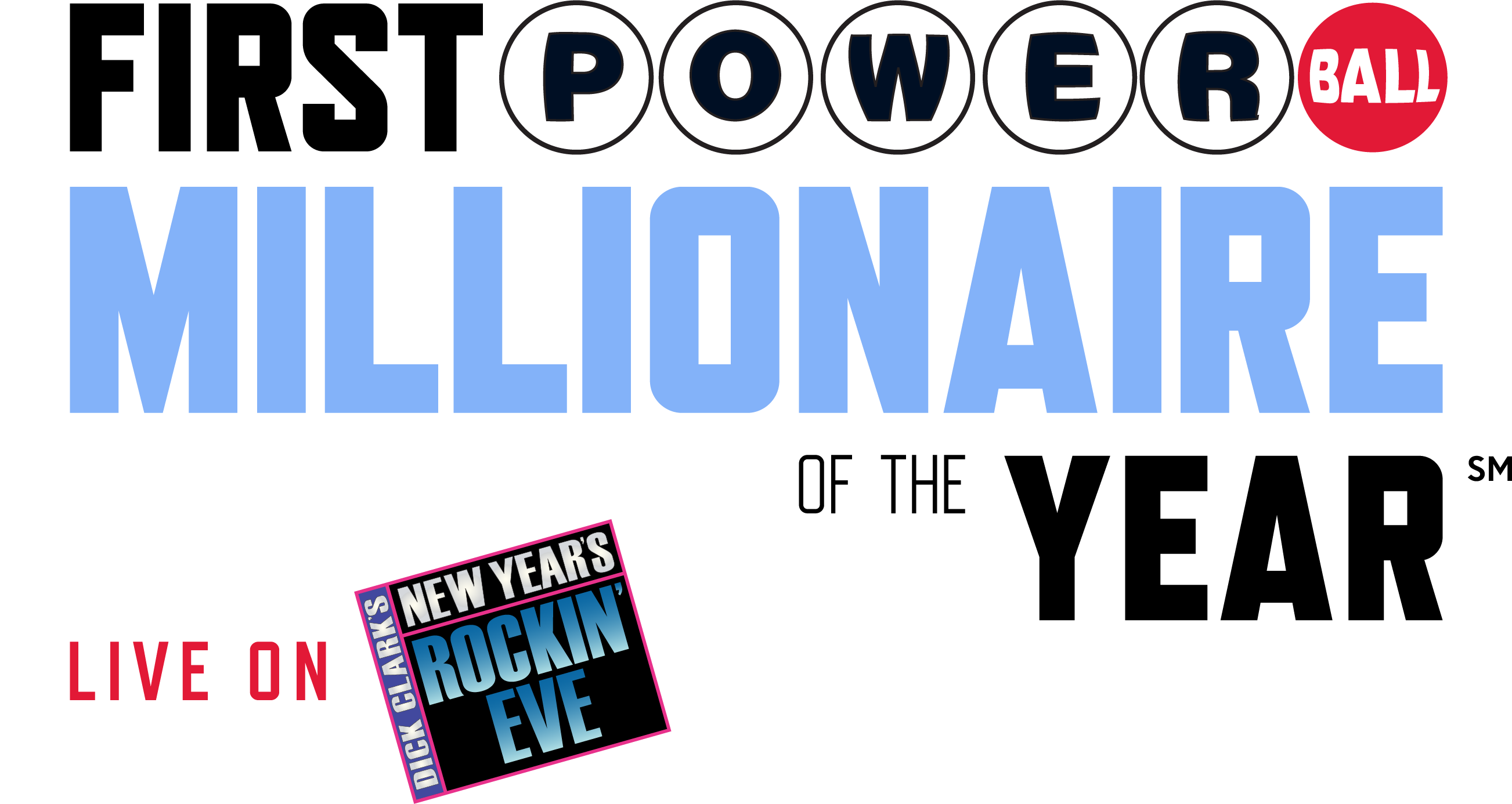 First Powerball Millionaire of the Year Logo