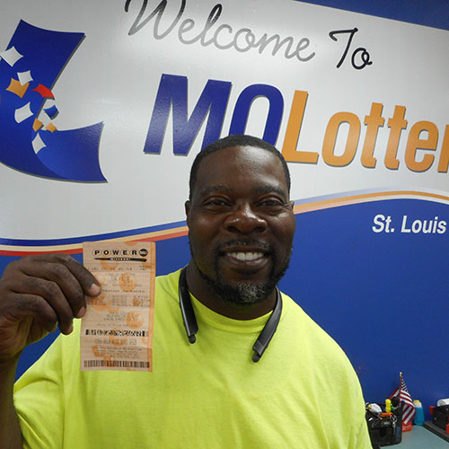 Missouri Lottery Powerball Winner Richard Payne