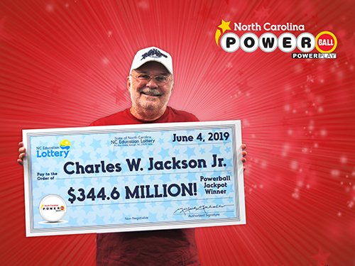 North Carolina Powerball Jackpot Winner Charles Jackson Jr.