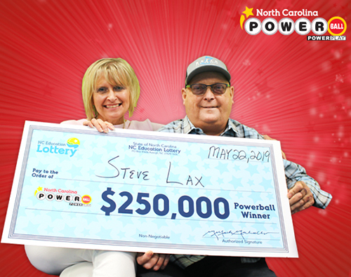 NCEL Powerball Winner Steve Lax