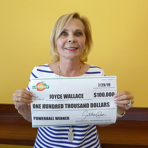 Georgia Lottery Powerball Winner Joyce Allen
