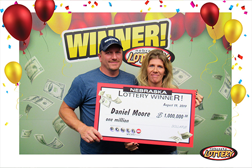 Nebraska Lottery Powerball Winner Daniel Moore