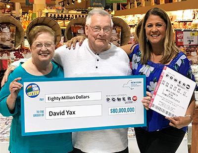 New York Powerball Jackpot Winner David Yax