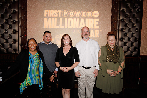Finalists for the First POWERBALL Millionaire of the Year