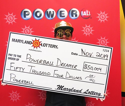 Maryland Lottery Winner Powerball Dreamer