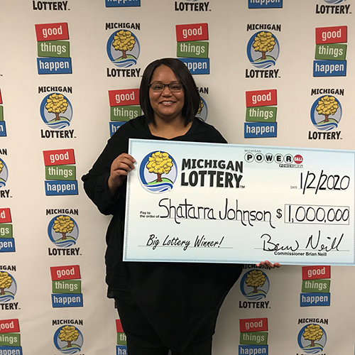 Michigan Lottery Powerball Winner Shatarra Johnson