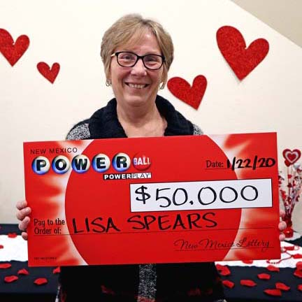 New Mexico Lottery Powerball Winner Lisa Spears
