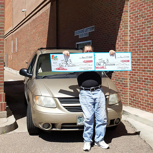 Colorado Lottery Powerball Winner Joe B