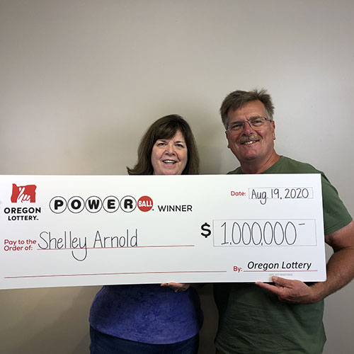Oregon Lottery Powerball Winner Shelley Arnold