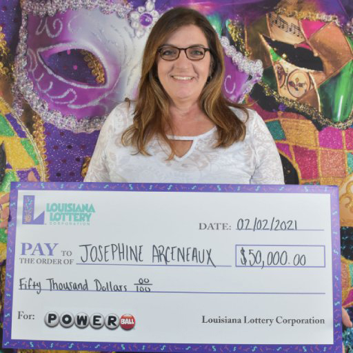 Louisiana Lottery Powerball Winner Josephine Arceneaux