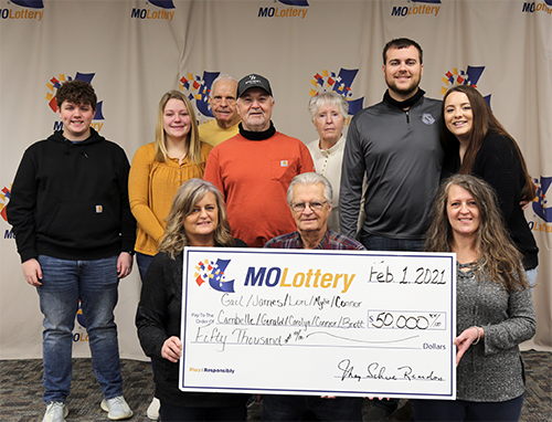 Group of 10 Splits $50,000 Powerball Prize in Missouri