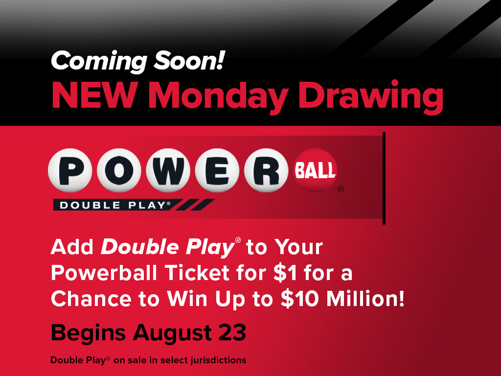 Powerball Monday Draw and Double Play