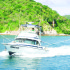 Big-game fishing on a Yacht in Huatulco