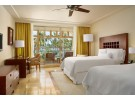 Img - Deluxe low floor with 2 doubles and balcony partial ocean view