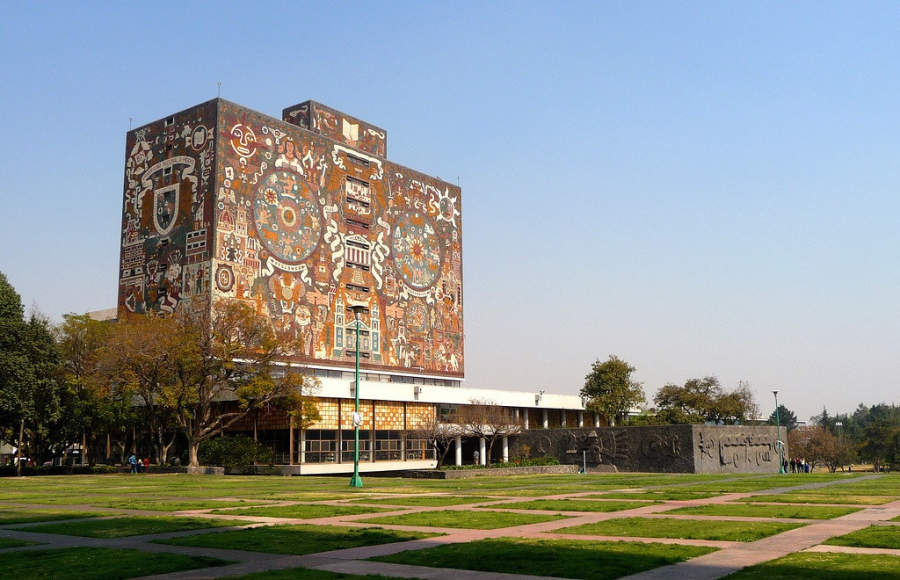 <p>University City, headquarters of the National Autonomous University of Mexico (UNAM)</p>