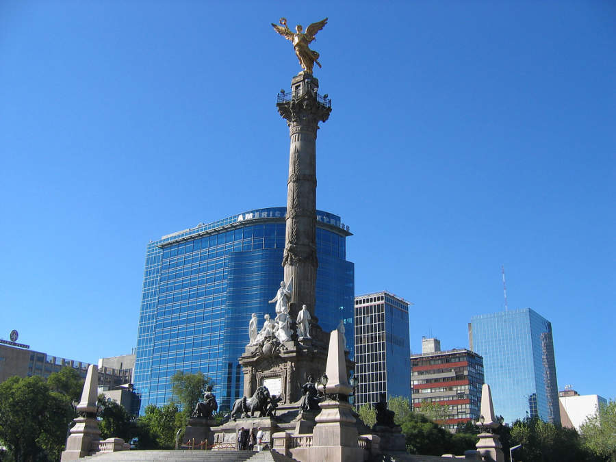 <p>The Angel of Independence is one of the most important monuments of Mexico</p>