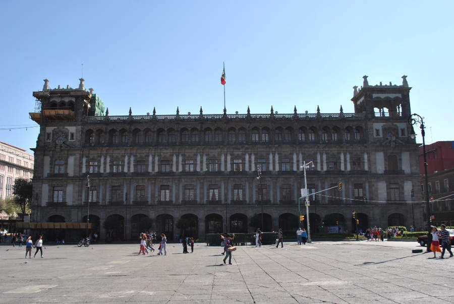 <p>Facade of the Former City Hall</p>