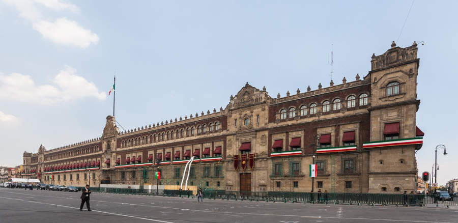 <p>The National Palace is the seat of the Executive Power in Mexico</p>