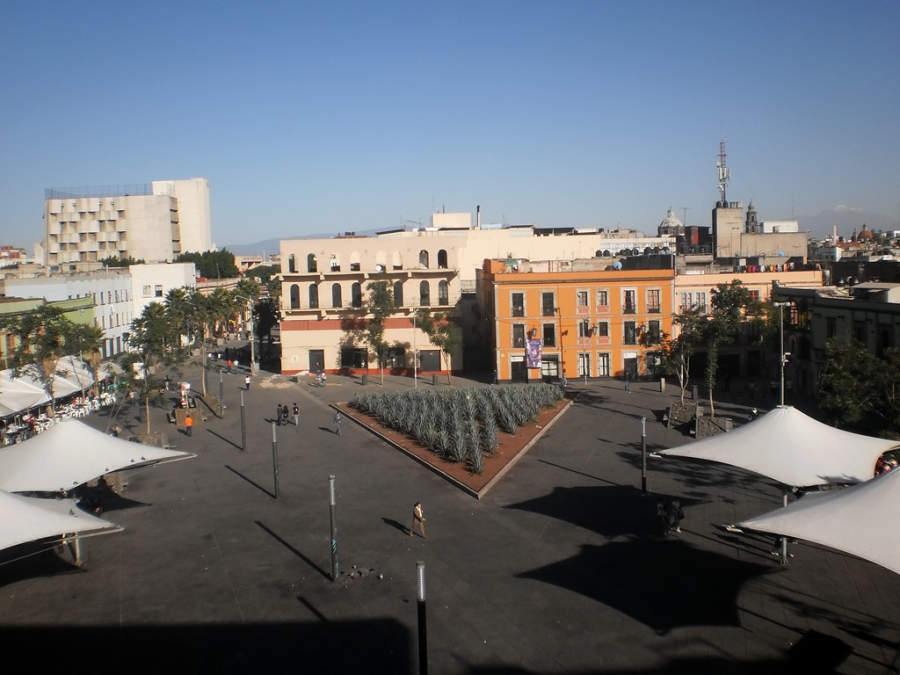 <p>Garibaldi Square is the seat of the <em>mariachis</em> in Mexico City</p>