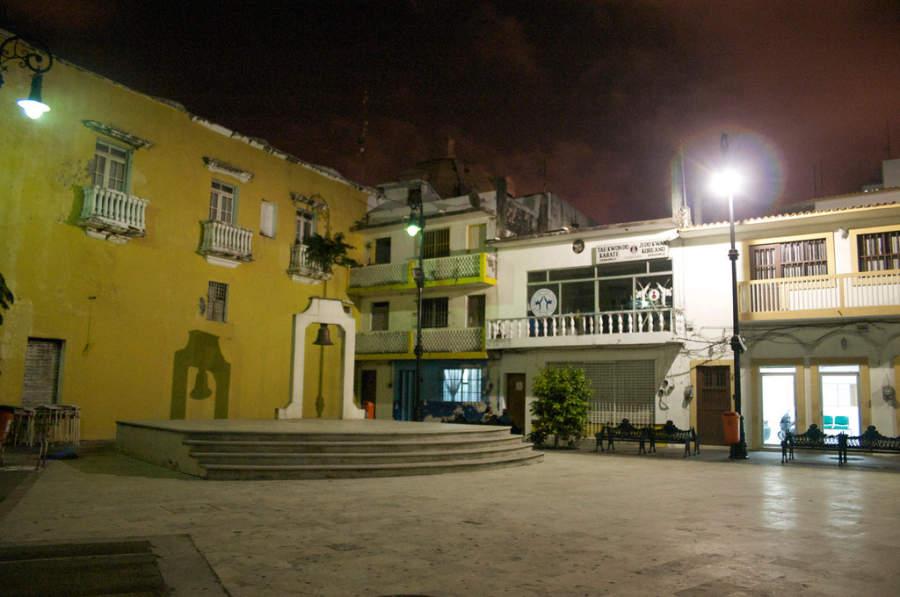 <p>Bell Square in the Port of Veracruz</p>