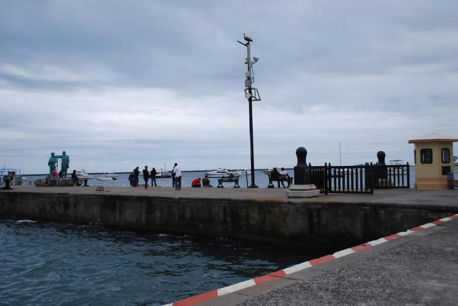 <p>The pier of Veracruz</p>