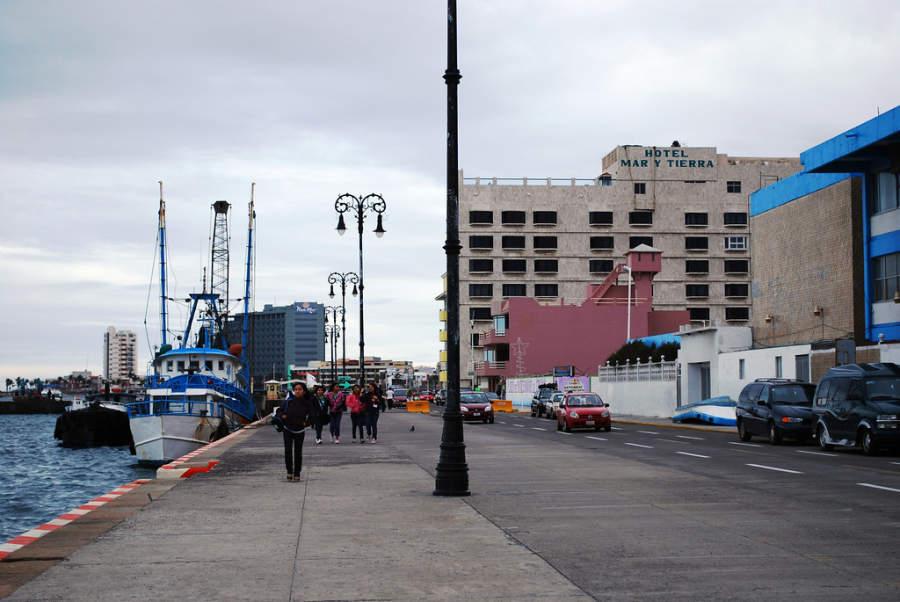 <p>Boardwalk of Puerto deVeracruz</p>
