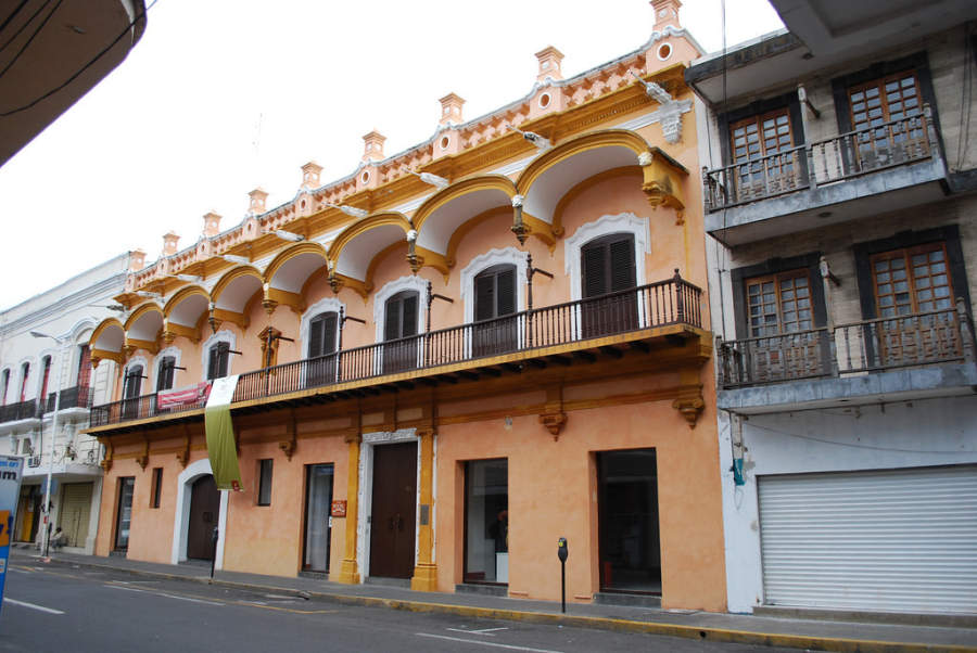 <p>La Casa Principal is a building dating back to the 18th century</p>
