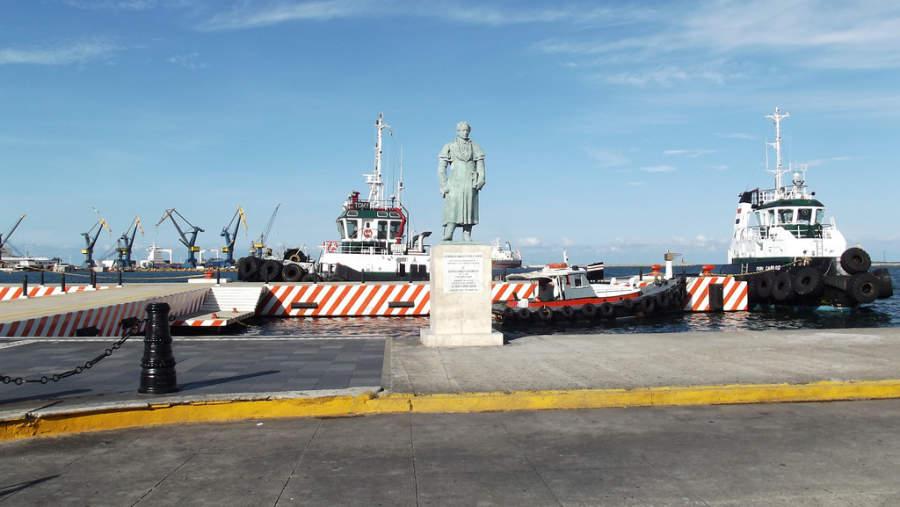 <p>Bay of the Port ofVeracruz</p>
