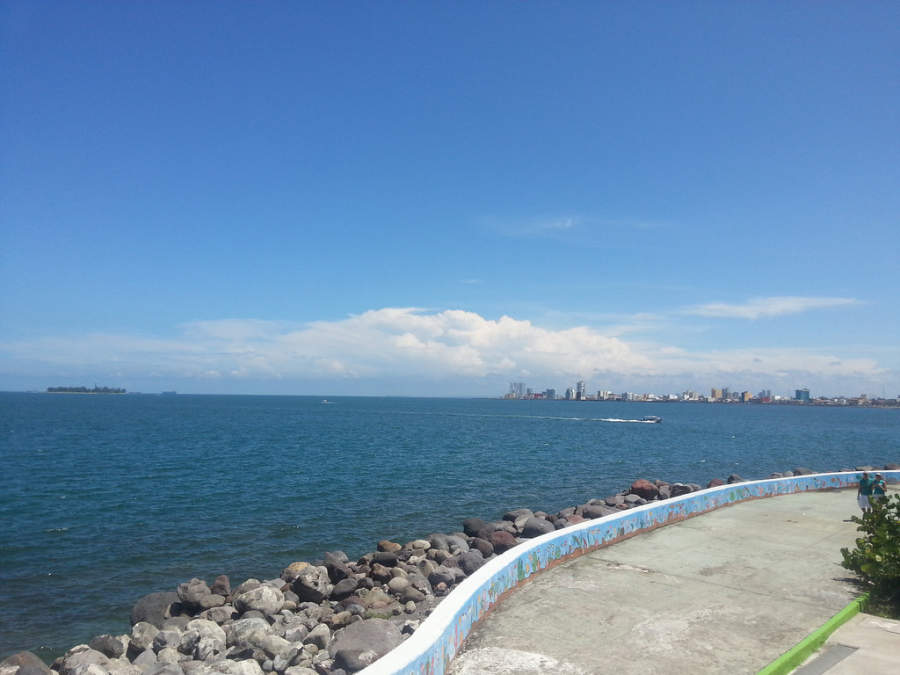<p>View of the ocean</p>