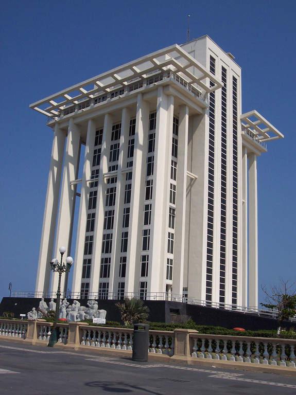 <p>PEMEX Tower in Veracruz</p>