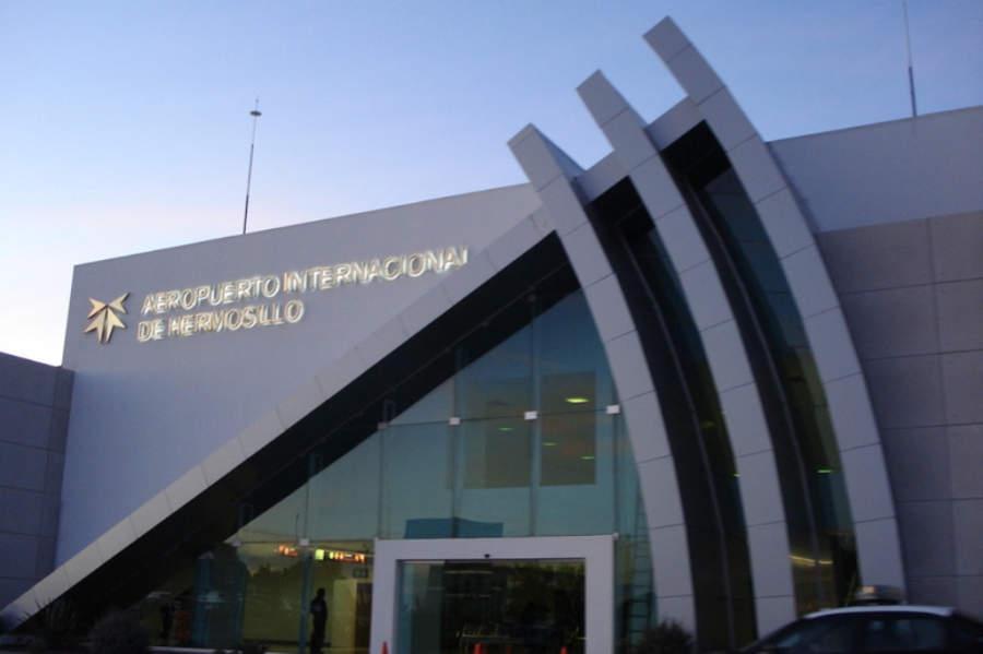 El Aeropuerto Internacional de Hermosillo es de estilo moderno