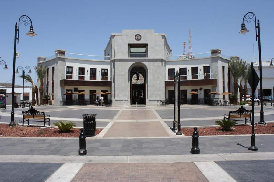 Plaza Bicentenario en el centro de Hermosillo